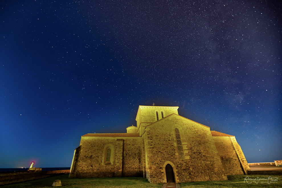 Fort Saint Nicolas, photo nocturne.