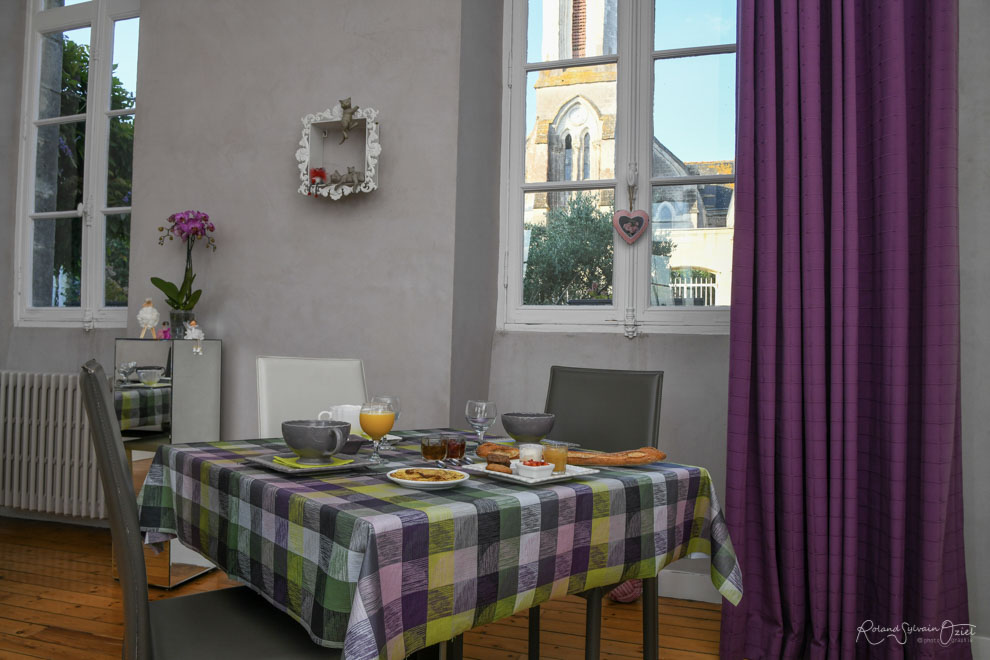 Gîte de 4 à 4 personnes près du Puy du Fou avec possibilité de petit déjeuner