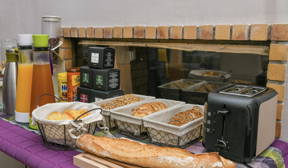 Chambres d'hotes en Vendée avec petit déjeuner copieux et fait maison