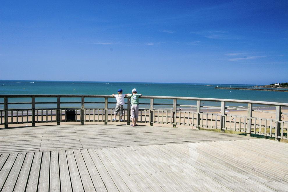 Belvédère Saint Gilles Croix de vie avec vue sur la Grande Plage et le Port