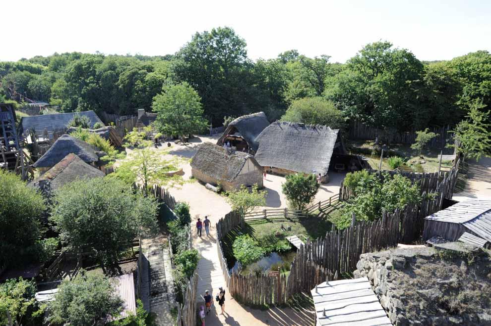 Le Fort de l'An Mil Grand Parc du Puy du Fou