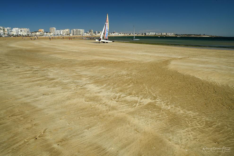 La grande plage des Sables d'Olonne