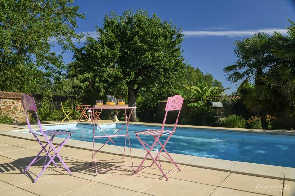 Chambres d'hôtes et gîtes avec piscine chauffée pour le Puy du Fou