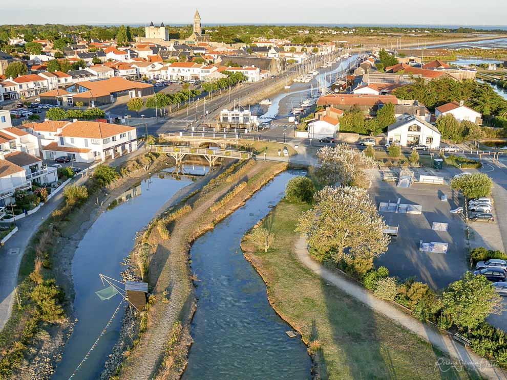Photo aérienne de l'Ile de Noirmoutier