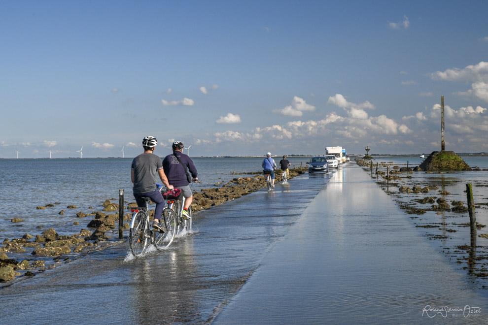 Traverser le Passage du Gois à vélo