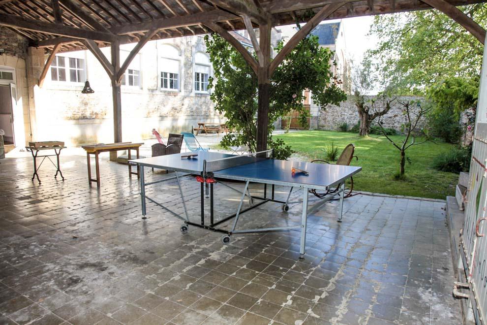 Gîte de 4 personnes proche du Puy du Fou avec jeux en bois sous préau