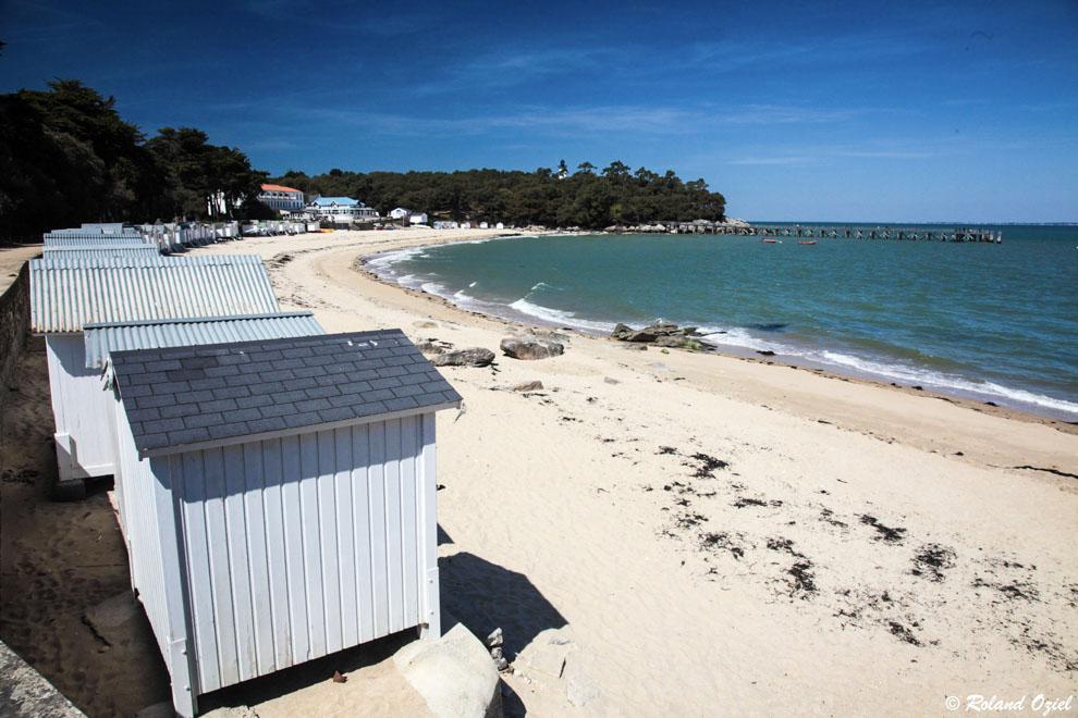 Cabane de plage de Noirmoutier