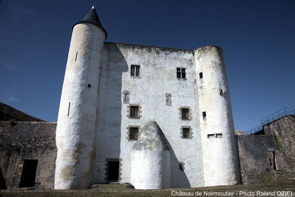 A l'intérieur du château de Noirmoutier