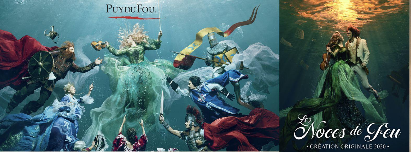 Les Noces de Feu spectacle du Grand Parc du Puy du Fou