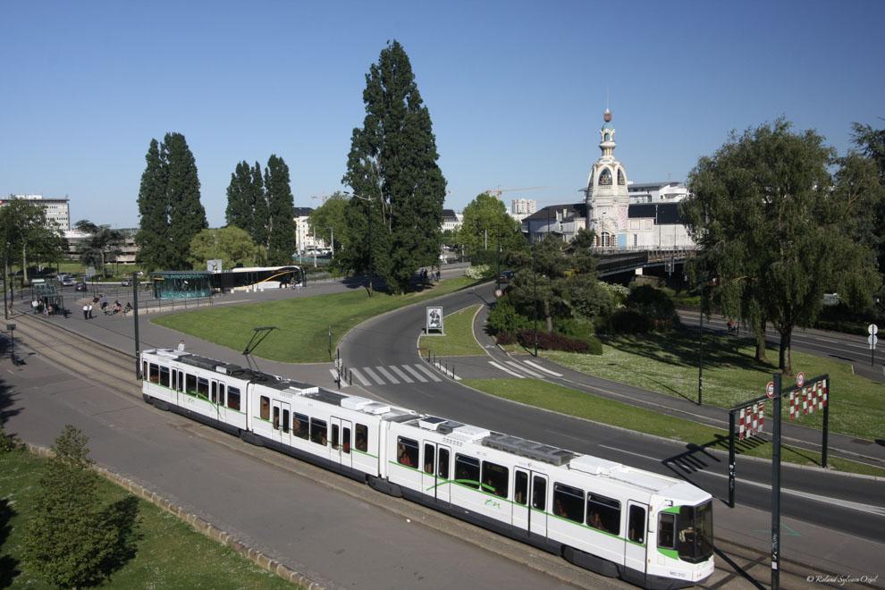 Ligne de tramway à nantes