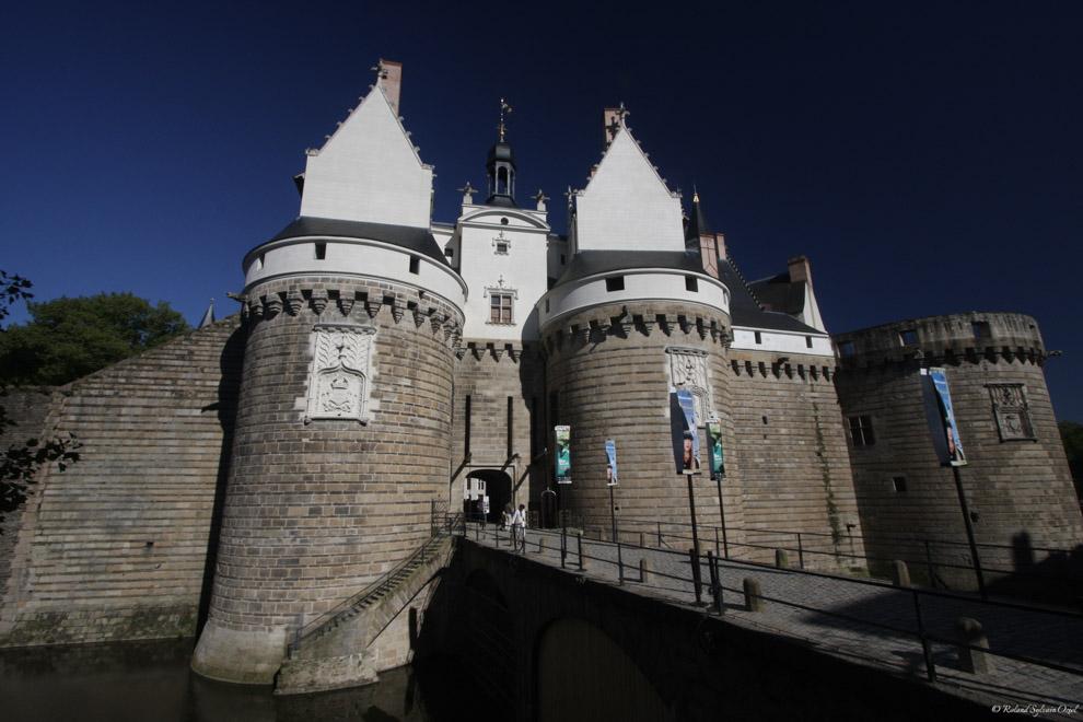 Entrée du Château des Ducs de Bretagne à Nantes
