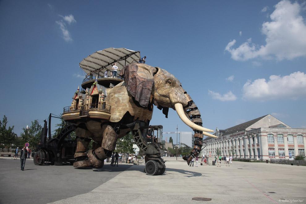 L'éléphant des Machines de l'Ile à Nantes