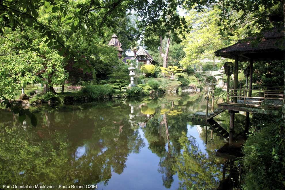 L'eau, la rivière la Moine qui alimente l'étang respecte la symbolique