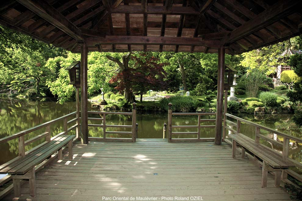 Pour visiter le parc floral de maulévrier