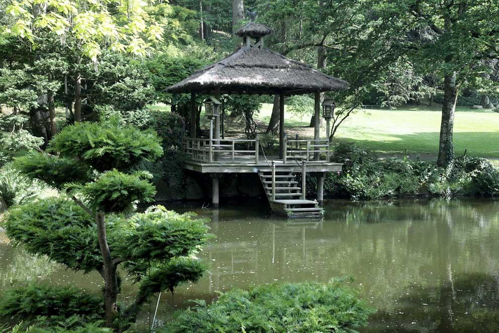 Parc de Maulévrier pour se ressourcer seul entre amis ou en famille.
