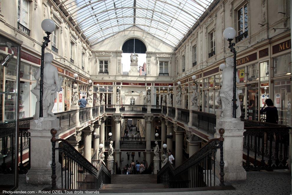 Passage Pommeraye à Nantes