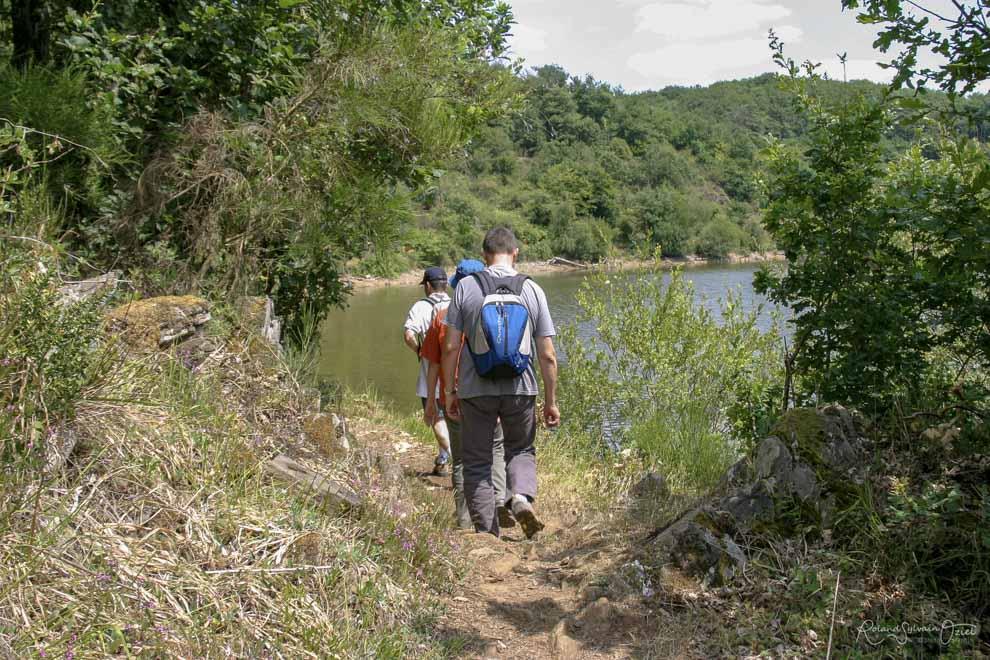 Balade en randonnée autour de la forêt de Mervent