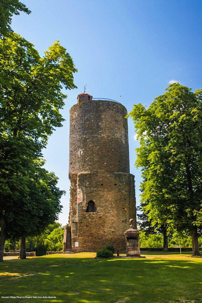 La Tour Mélusine à Vouvant